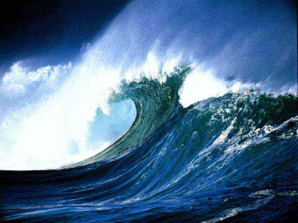 Ocean Waves PPT Backgrounds