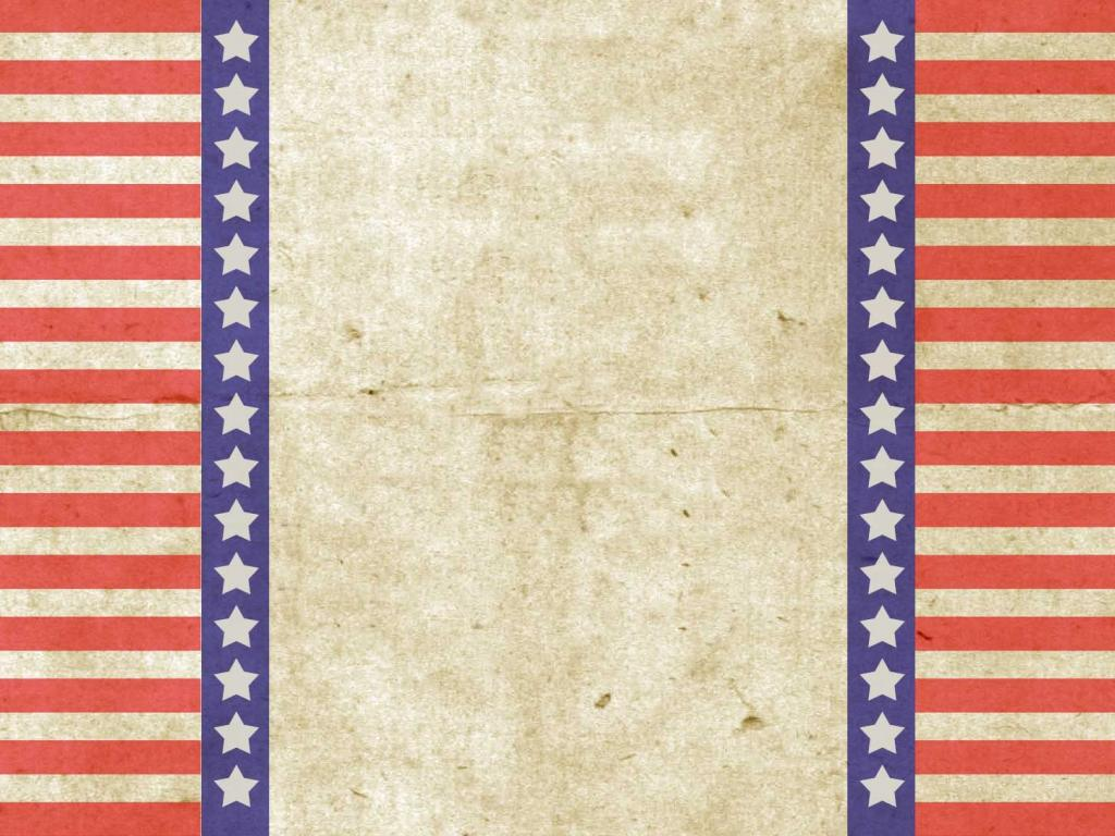 Patriotic Vintage Vintage Patriotic Design PPT Backgrounds