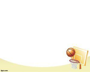 Plantilla PowerPoint Basketball NBA  Plantillas PowerPoint Gratis Frame PPT Backgrounds