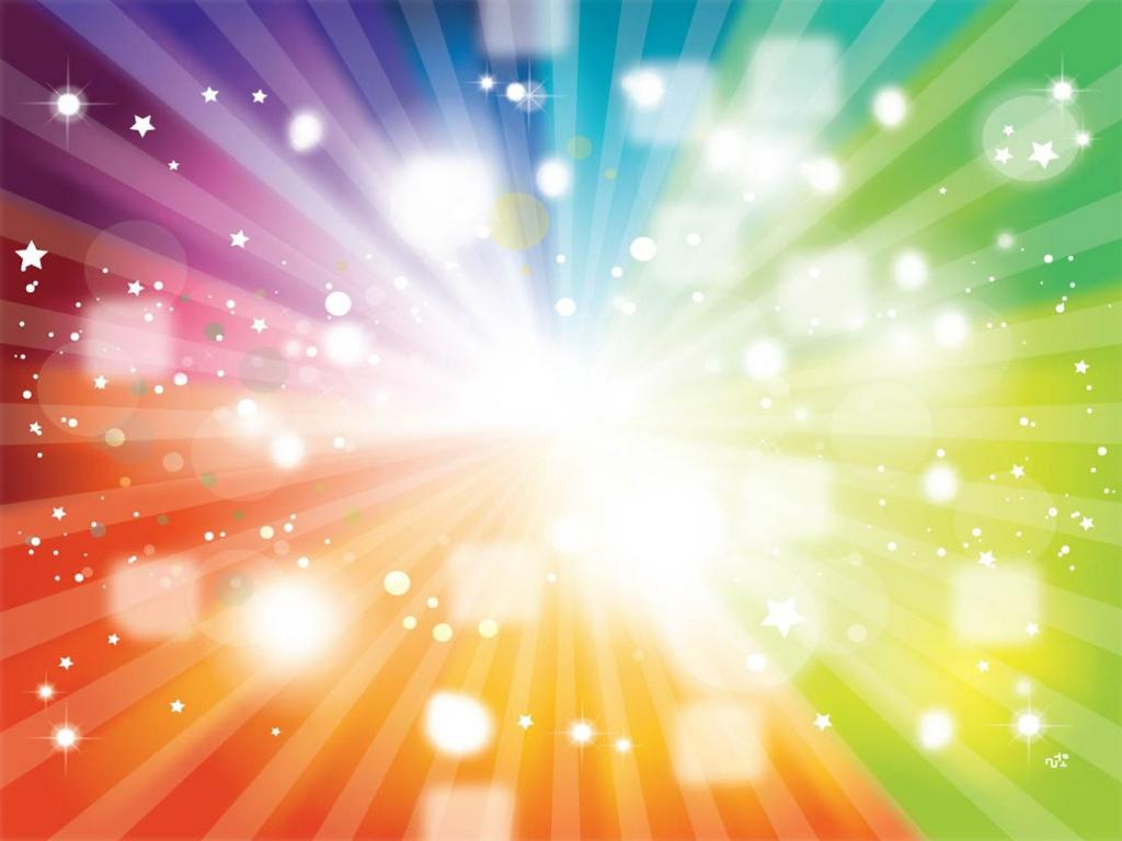 Rainbow PPT Backgrounds