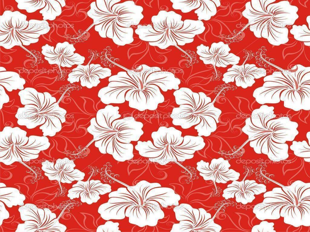 Red Hawaiian Flower Quality 1024x768 Resolution Backgrounds