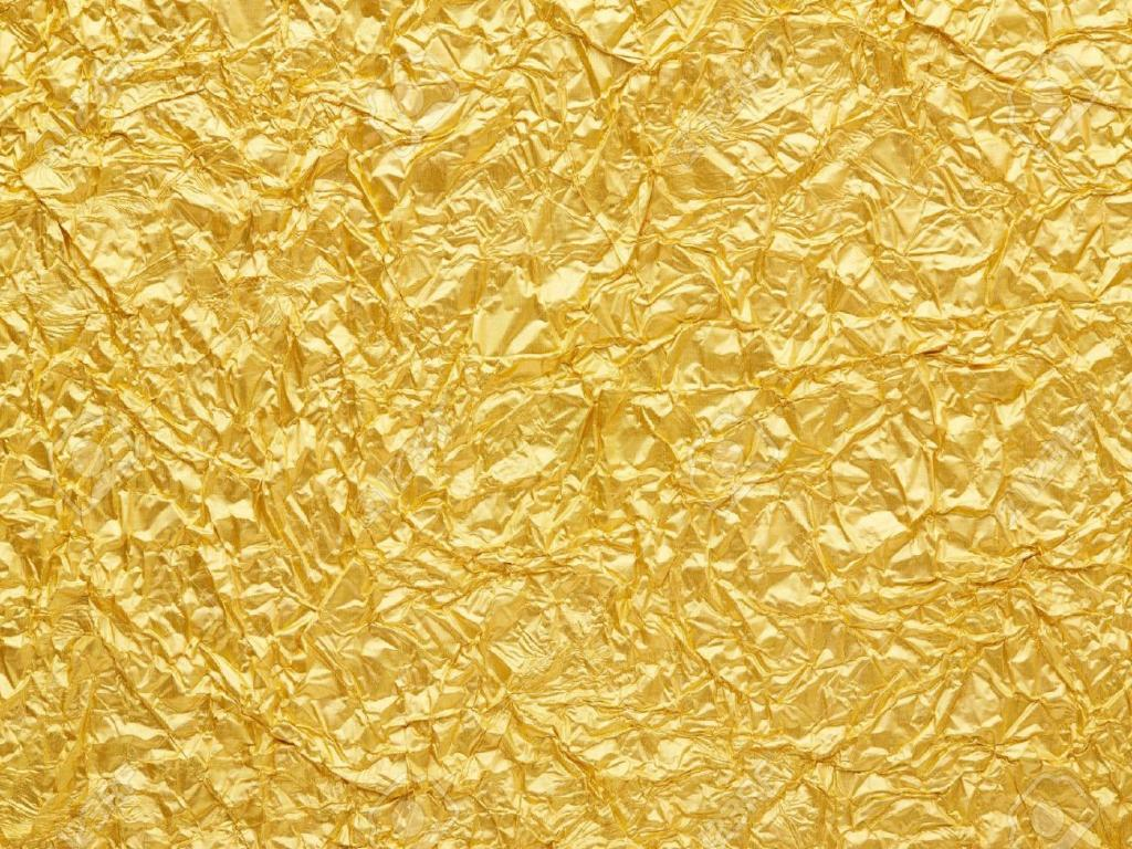 Seamless Gold Texture PPT Backgrounds