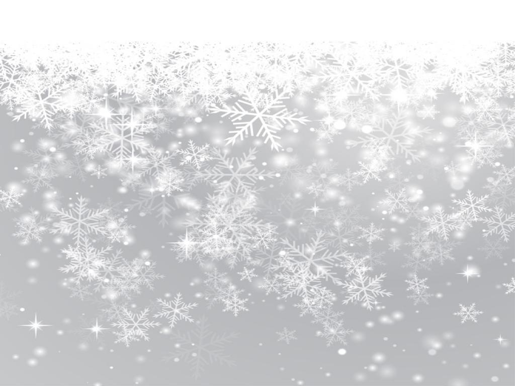 Snowflake Slides PPT Backgrounds