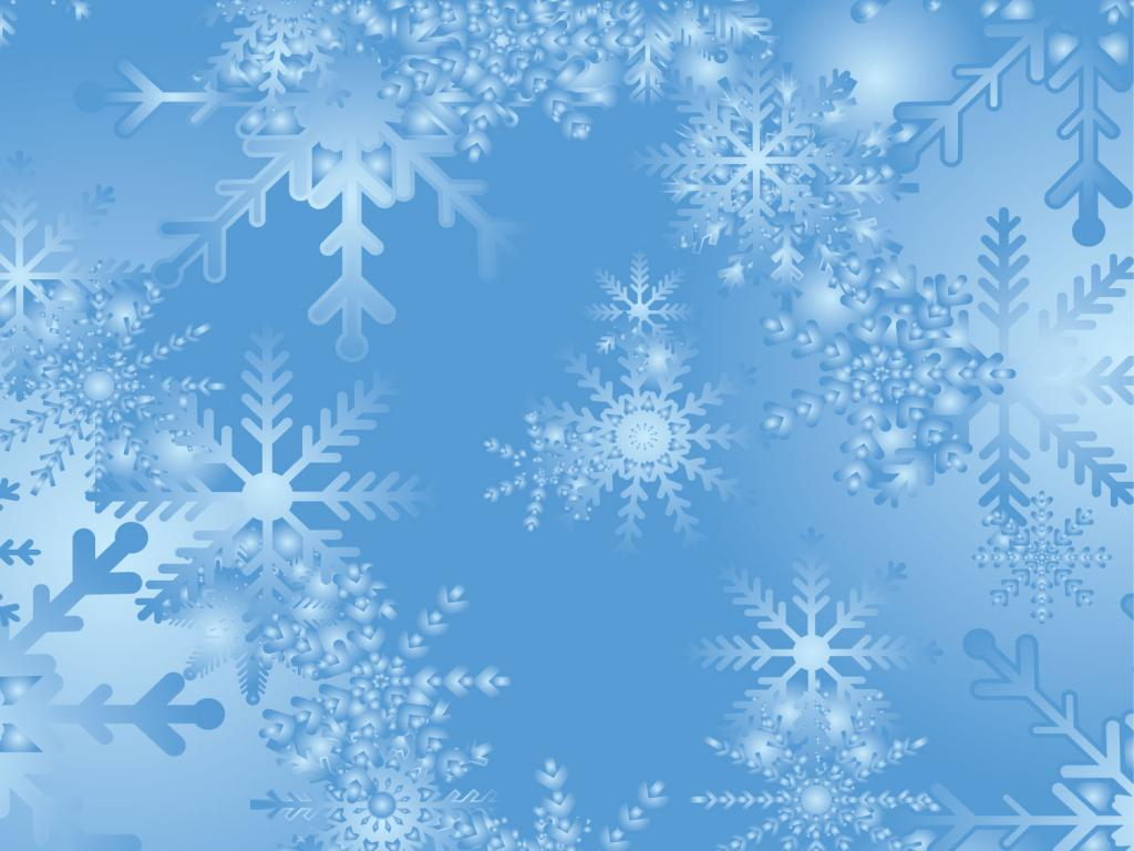 Snowflakes Photo PPT Backgrounds
