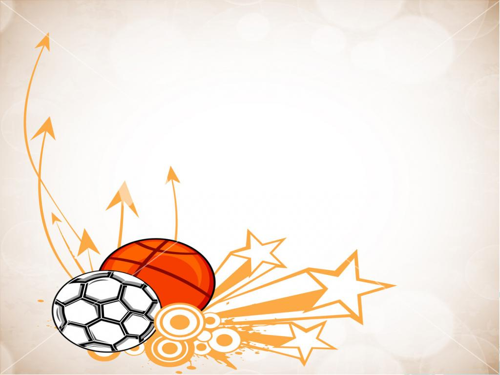 Sports Designs Clipart Wallpaper PPT Backgrounds