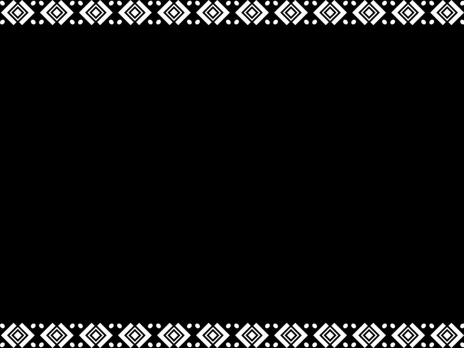 White Pattern Frame PPT Backgrounds
