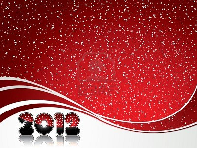 2012 New Year Presentation Backgrounds