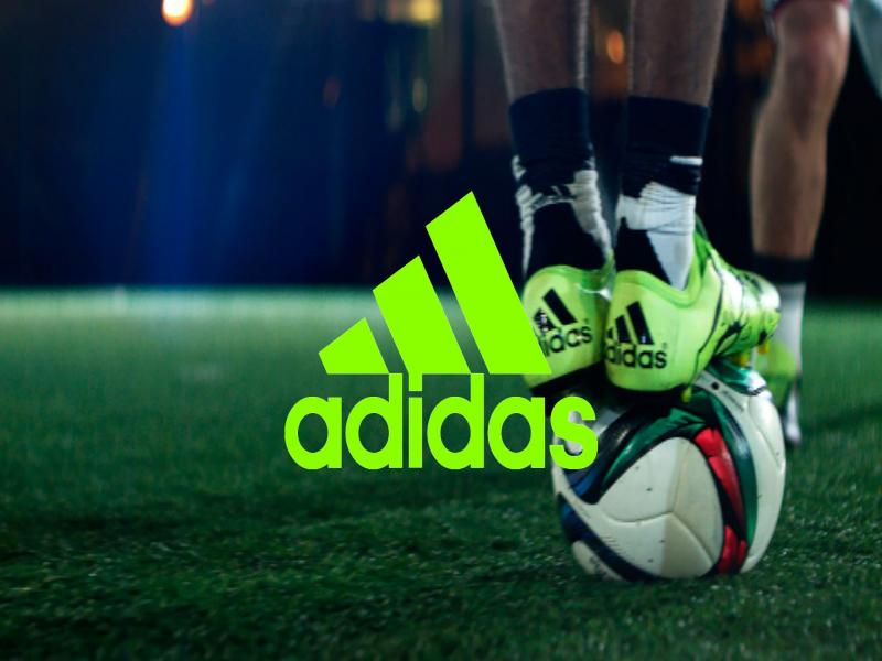 Adidas Soccer Presentation Backgrounds For Powerpoint Templates Ppt Backgrounds