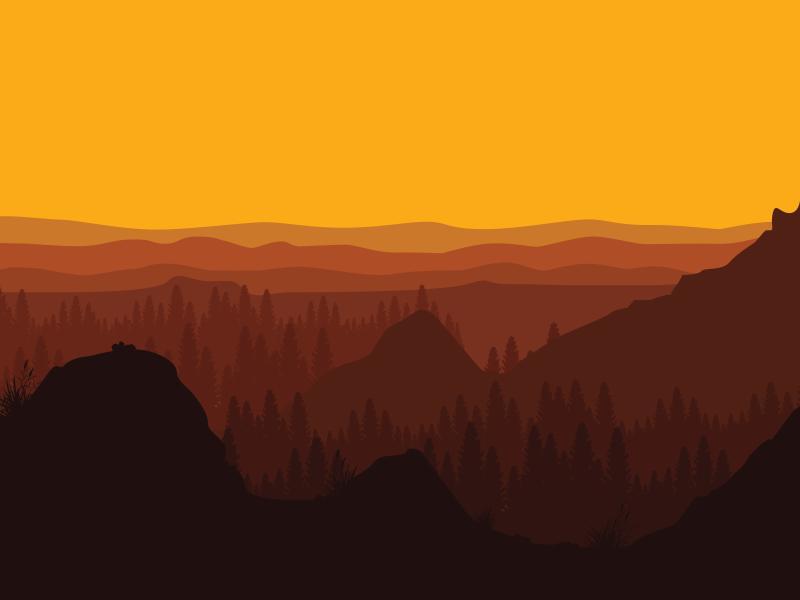 Alaska Sunset Backgrounds