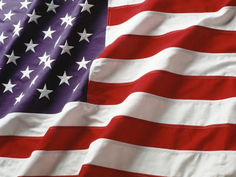 American Flag Frame Backgrounds for Powerpoint Templates - PPT ...