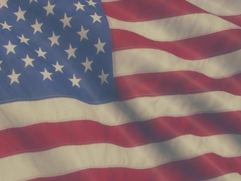 American Patriotic Flag Design Backgrounds
