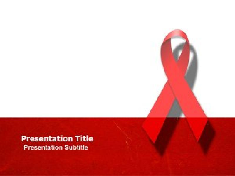 Animated HIV Templates Backgrounds