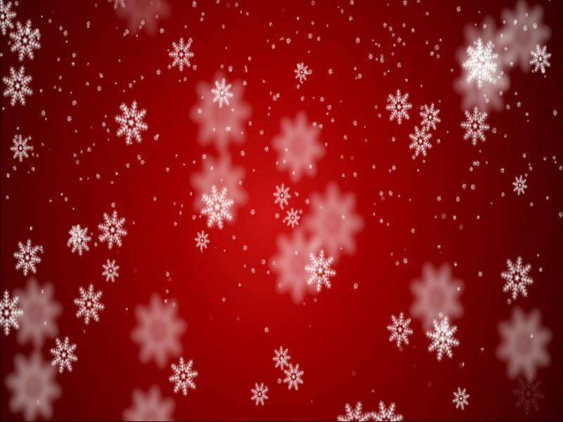 Animated Merry Christmas Template Backgrounds For Powerpoint