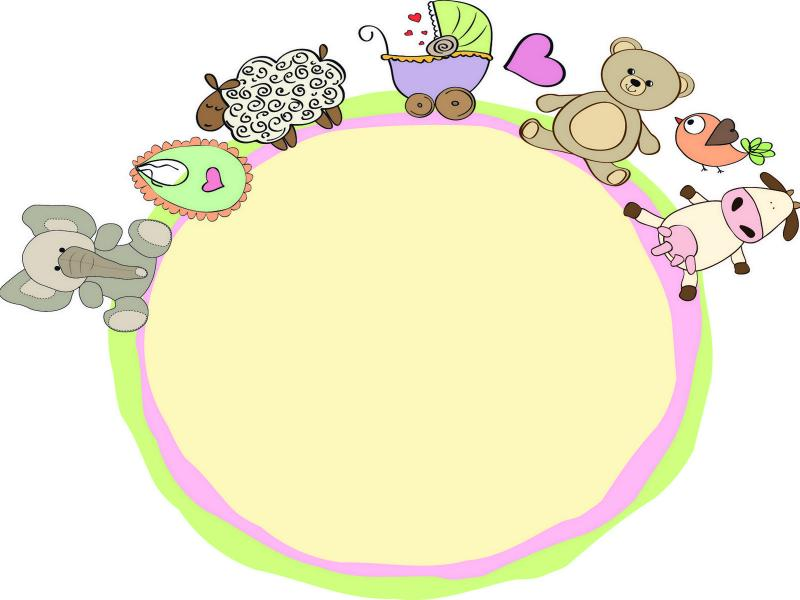 Baby Clipart Backgrounds For Powerpoint Templates Ppt Backgrounds