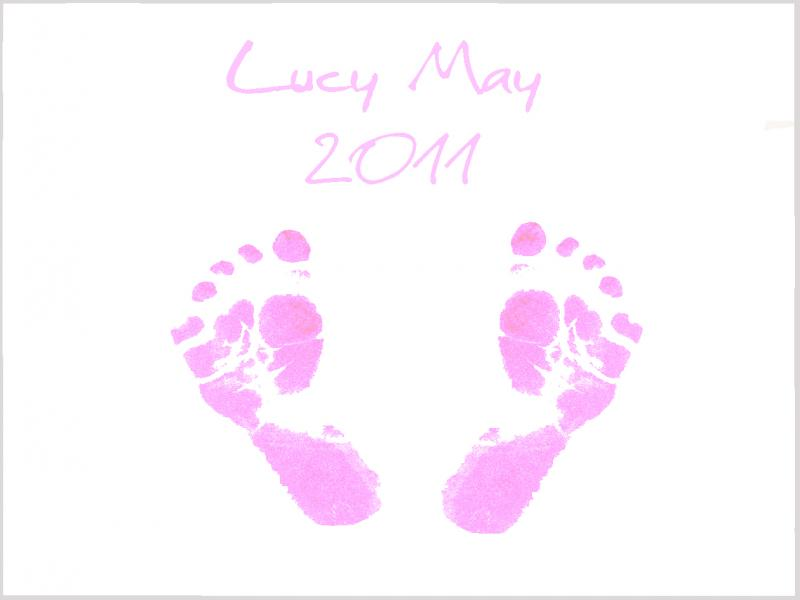 Baby Footprints Picture Backgrounds