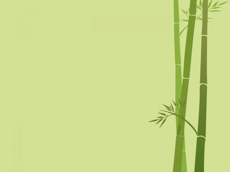 bamboo desktop art backgrounds for powerpoint templates