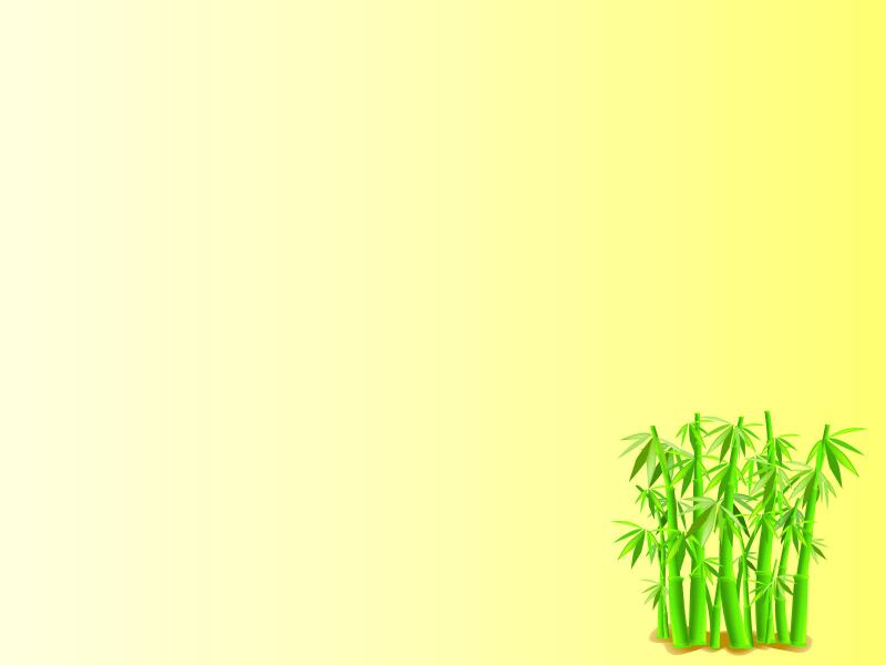 bamboo shoots frame template clip art backgrounds for
