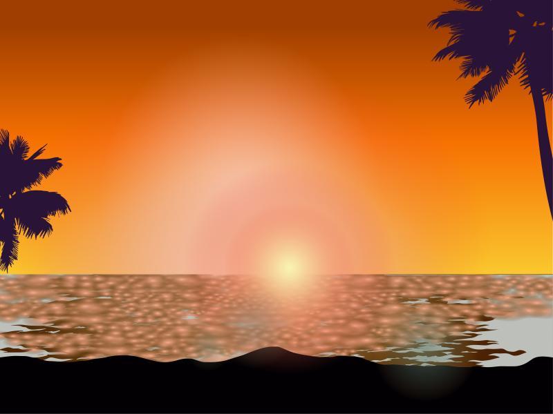 Beach Sunshine Backgrounds