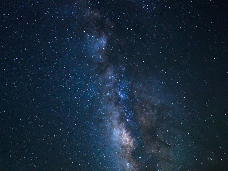 Beautiful Starry Night Sky Desktop  Edens Photo Backgrounds