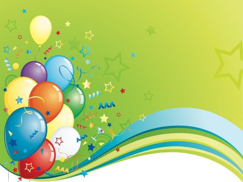 Birthday Backgrounds For Powerpoint Templates Ppt Backgrounds