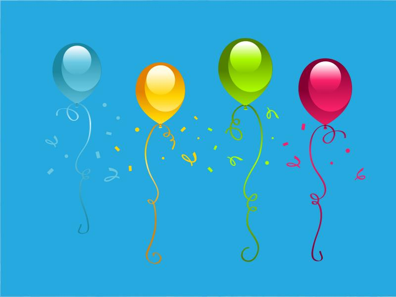 Birthday PPT Backgrounds