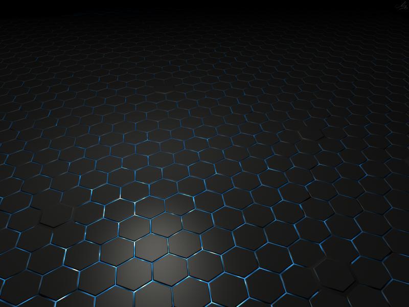 Black Metal Hexagon Hd Clip Art Backgrounds