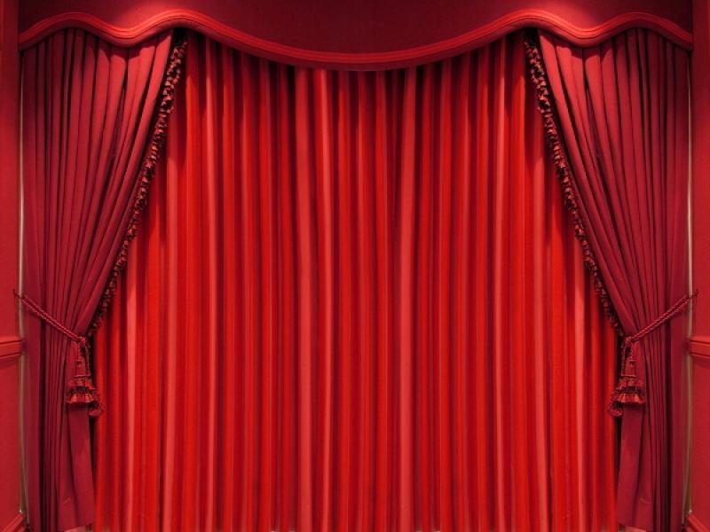 Black Red Stage Curtains Velvet Stage Download Backgrounds