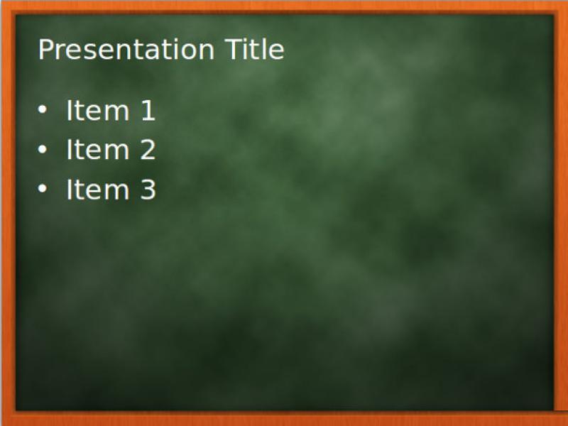 blackboard chalkboard template download backgrounds for powerpoint