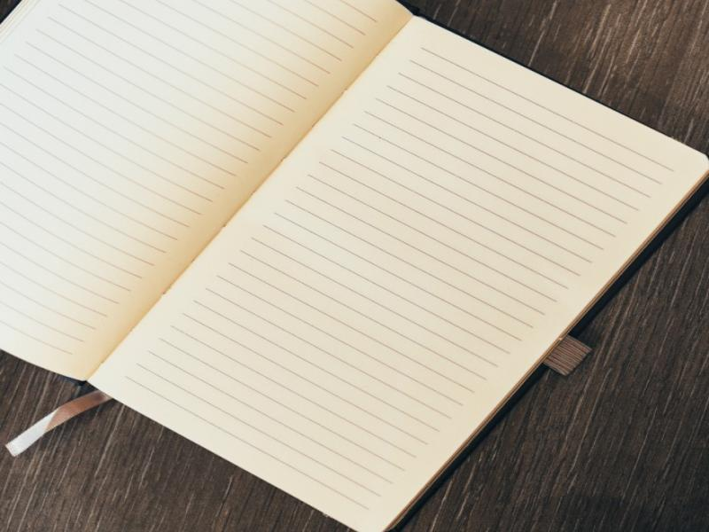 Blank Journal Art Backgrounds For Powerpoint Templates Ppt