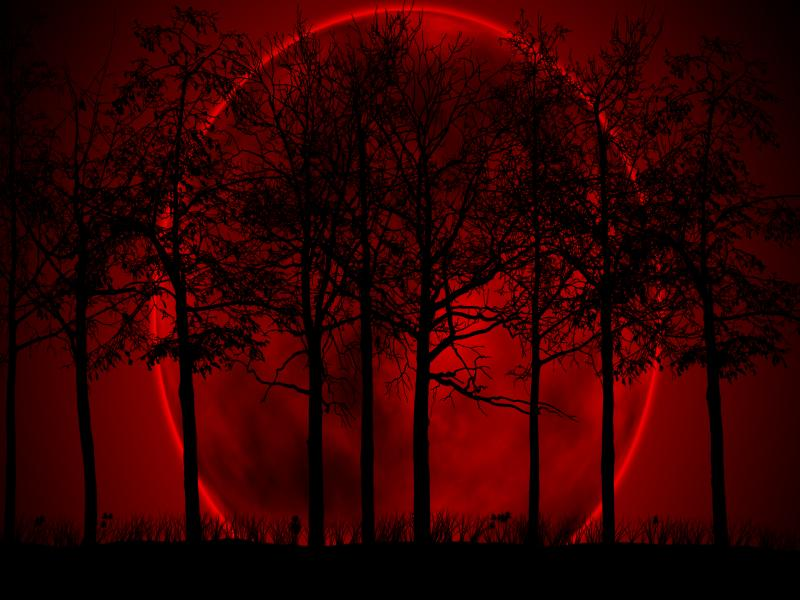 Blood Moon Frame Backgrounds