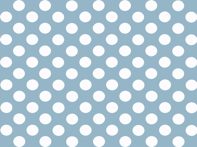 Blue and White Polka Dot Slides Backgrounds