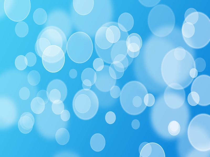 Blue Bubbles Clip Art Backgrounds