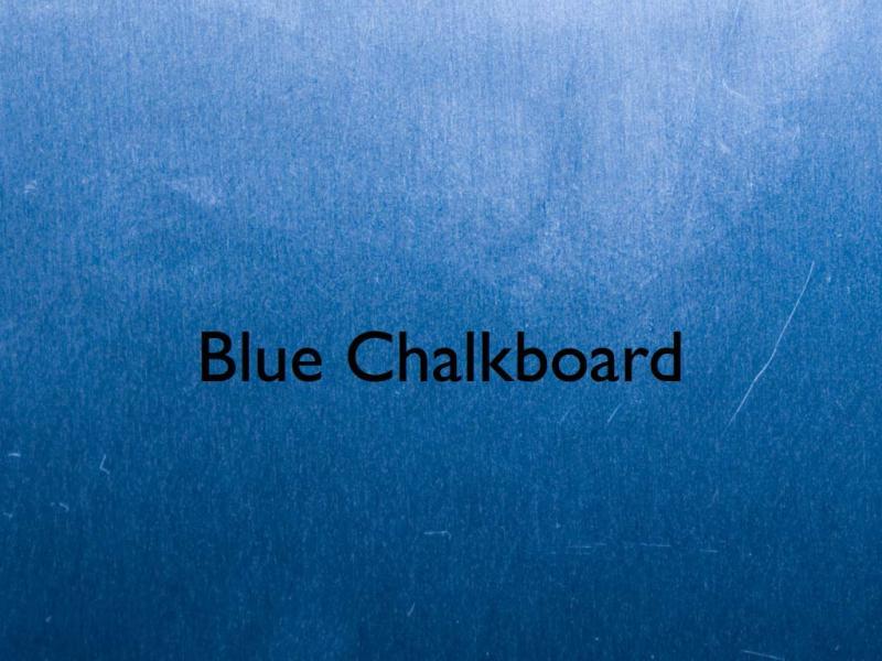 Blue Chalkboard Keynote Template Free Iwork Templates Frame