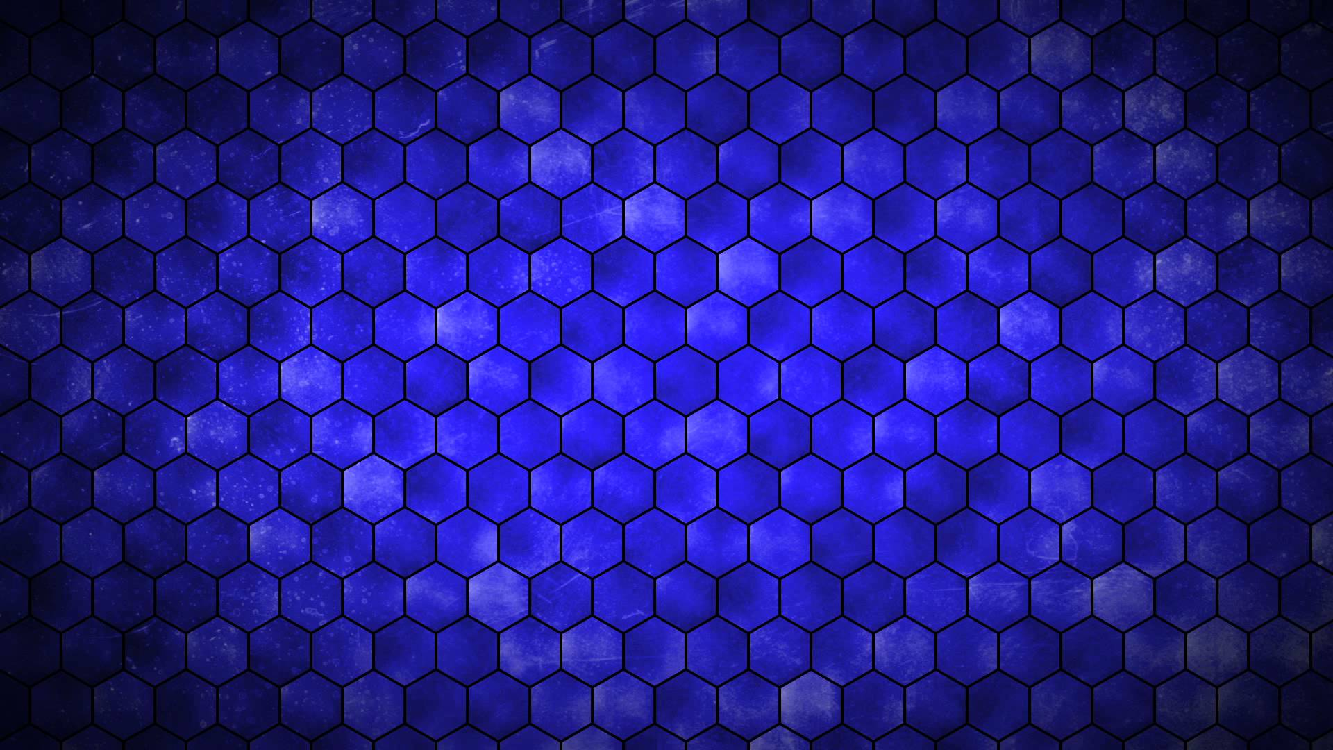 Blue Hexagon Grid Hd Picture Backgrounds