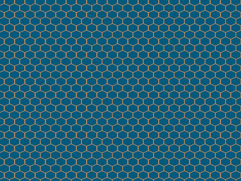 Blue Hexagon Honeycomb Backgrounds