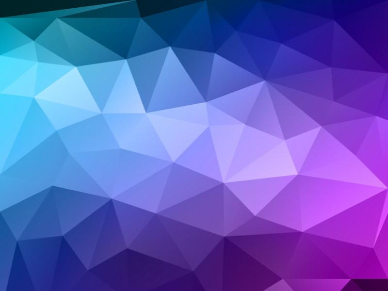 blue polygon vector backgrounds for powerpoint templates