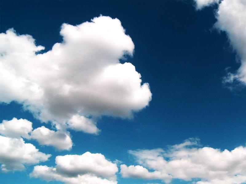 Blue Sky and Clouds Backgrounds