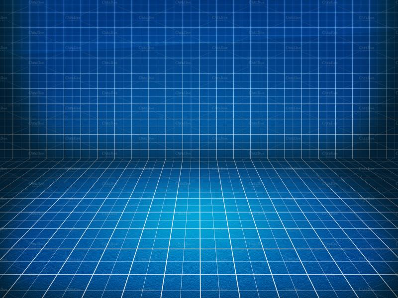 Blueprint Stage Backgrounds For Powerpoint Templates Ppt