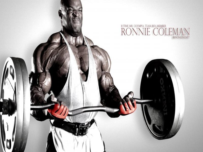 Bodybuilding Slides Backgrounds