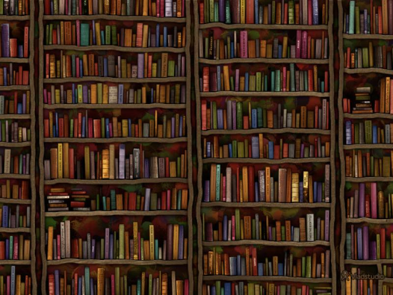 Books Frame Backgrounds