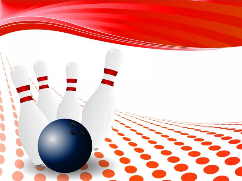 Bowling Template Template Backgrounds