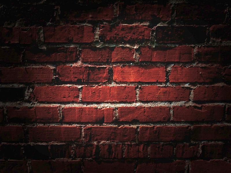 Brick Wall Template Backgrounds For Powerpoint Templates