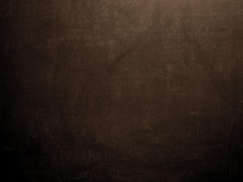 Brown Chalkboard Slides Backgrounds