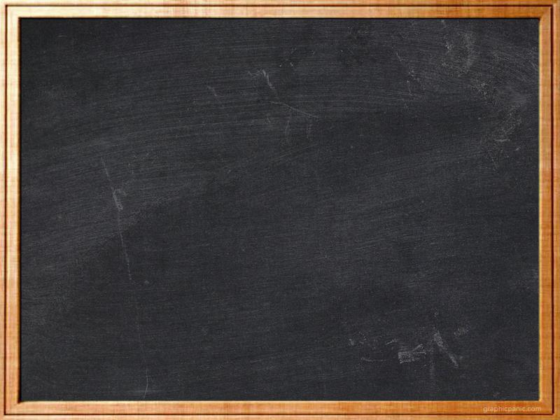Brown Frame Chalkboard Clipart Backgrounds