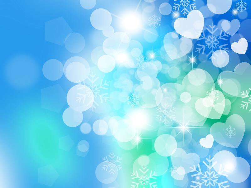 Bubbles Hearts Blue Celebration Download Backgrounds