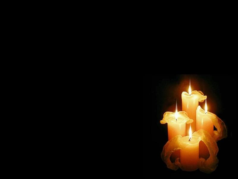 Excellent Candle Frame Backgrounds for Powerpoint Templates - PPT Backgrounds EM49