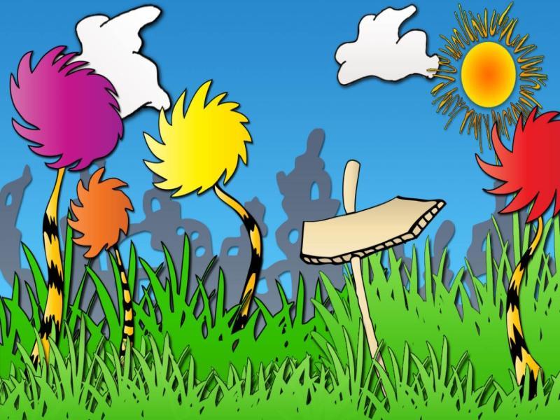 Cartoon Creative Photo PPT Backgrounds