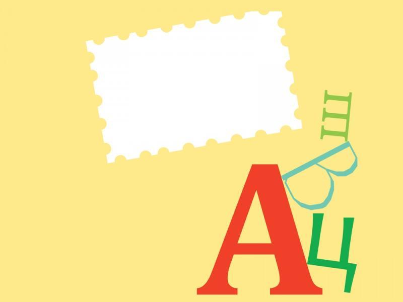 Cartoon Educational Yellow Backgrounds