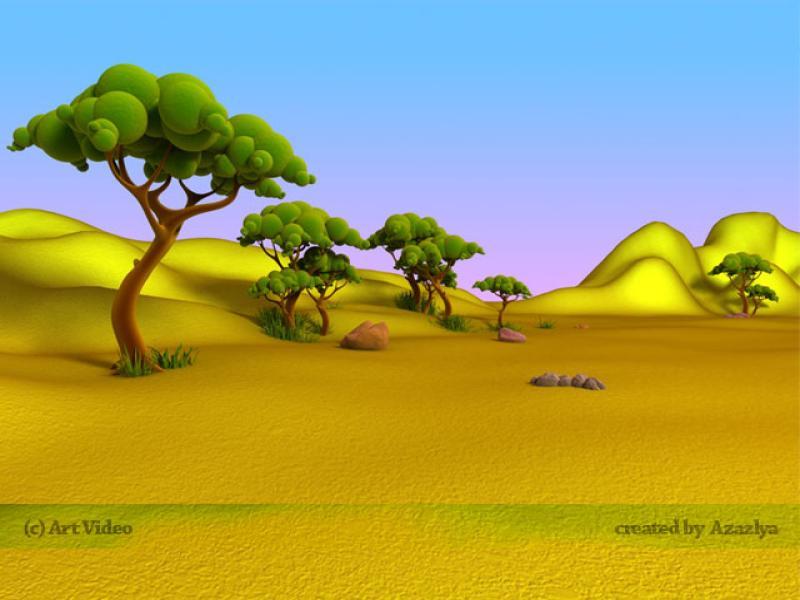 Cartoon Landscape Backgrounds