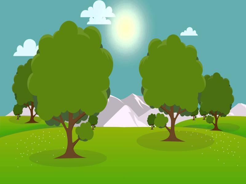 Cartoon Sunrise Sunshine Timelapse HD 1080p Motion   Backgrounds